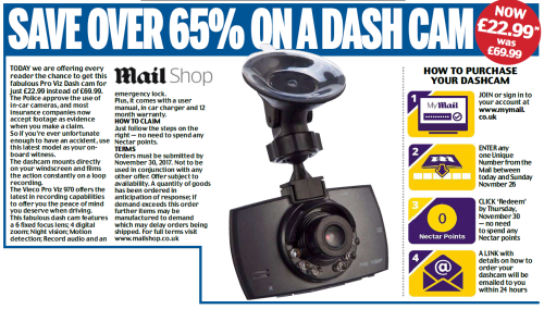 Daily Mail | Mail Shop | Reader Offer