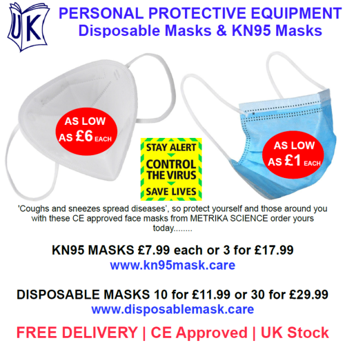 PPE ranged launched by UK Reader Promotions